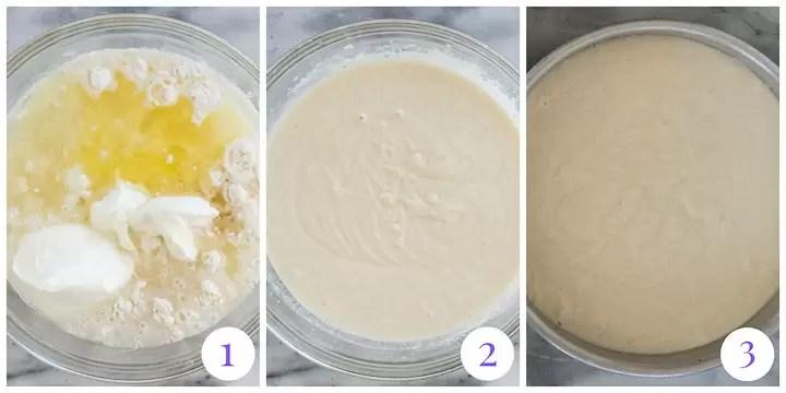 how to make Christmas poke cake
