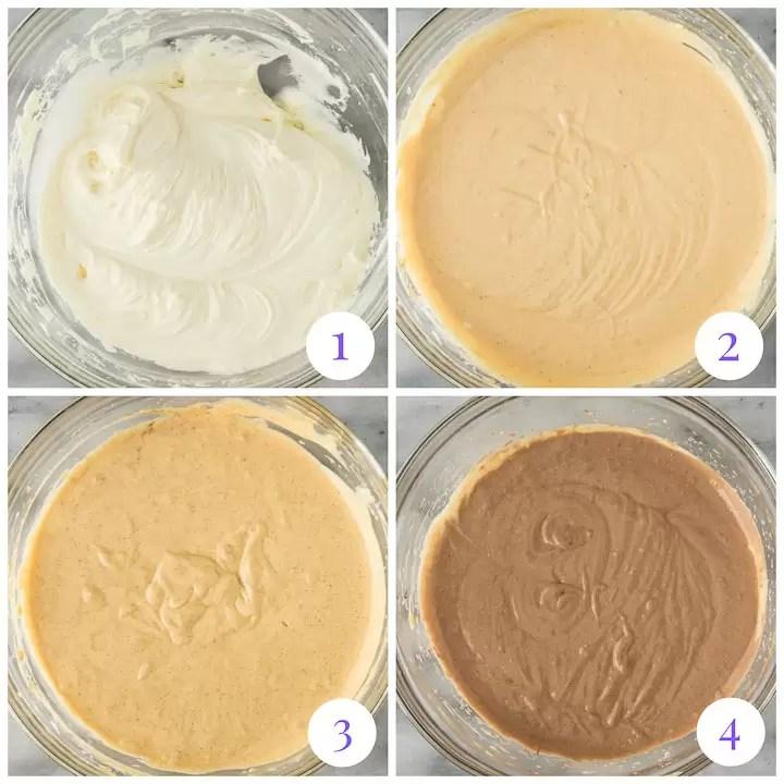 how to make chocolate pumpkin cheesecake