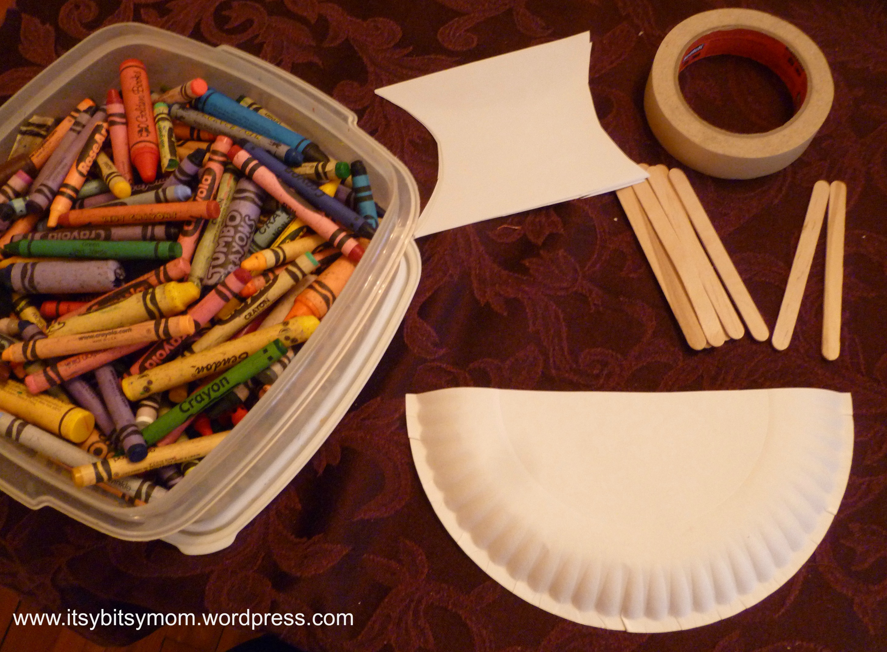 Itsy Bitsy Thanksgiving Crafts