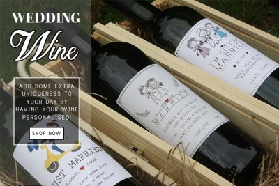 personalised wine for weddings - Shop for Personalised wines