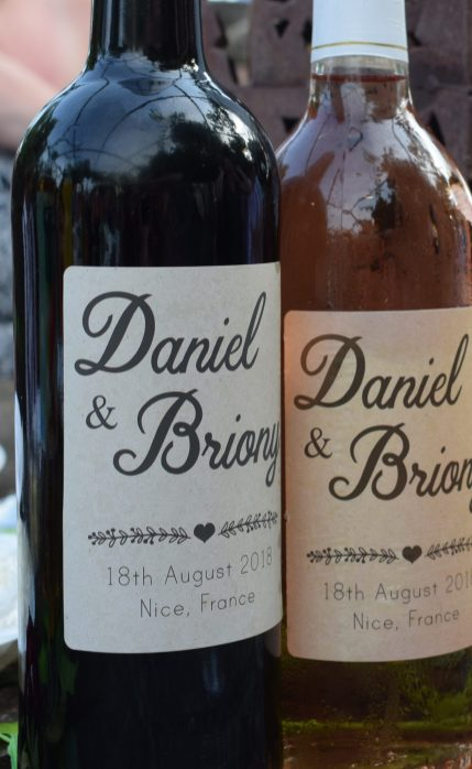 Personalised Wine - Wedding wine