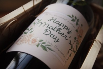 Mothers Day classy - Personalised label