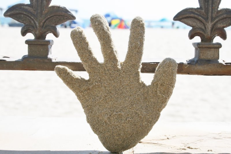 BEach Craft - Hand Sand Craft