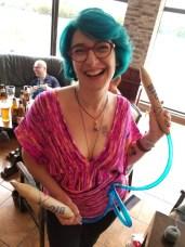 @JulieKnitsinParis loves BigStix™!