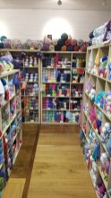 In Galway again - so much yarn in the Knitwits & Crafty Stitchers shop!