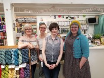 The ladies at This is Knit - Dublin, Ireland!