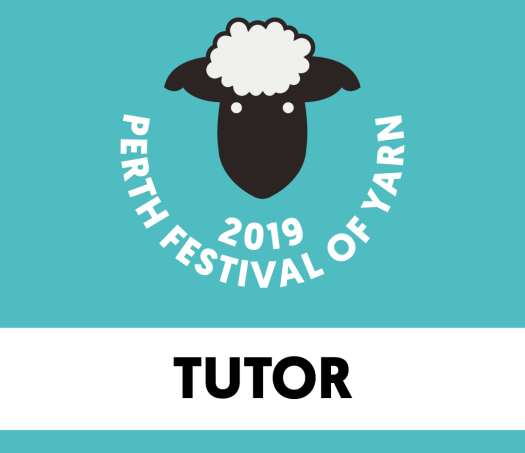 perth festival of yarn tutor badge
