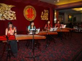 Musicians playing Chinese instruments
