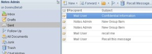 lotus notes message recall_ittechsolution
