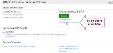 Microsoft Office 2013-64bit Preview