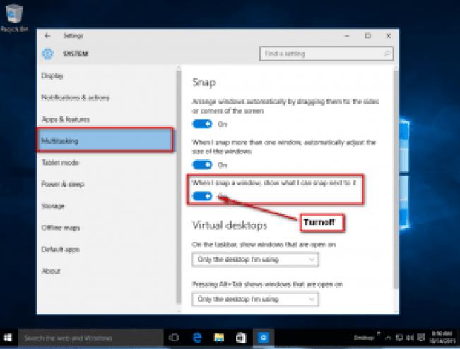 Turnoff_Snap _Assist-Windows 10