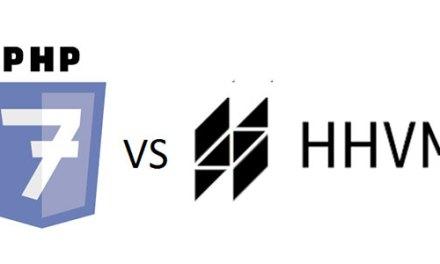 PHP 7 est compétitif en vitesse pure