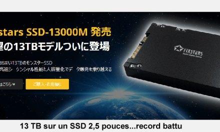 13 TB pour un « device » SSD
