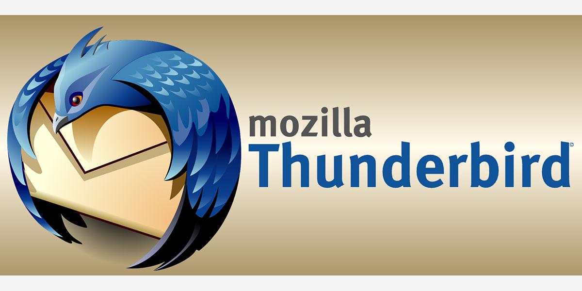 Fin programmée de Thunderbird