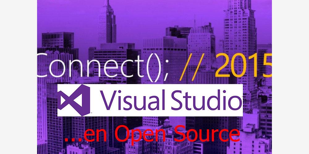 Visual Studio en Open Source : le choc