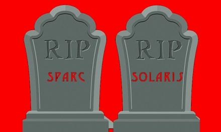 Solaris et Sparc, ça sent le sapin