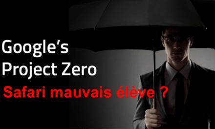 Project Zero de Google, Apple n'aime pas