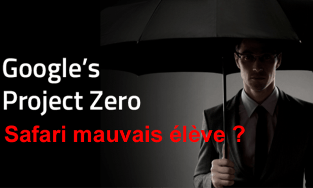 Project Zero de Google, Apple n'aime pas