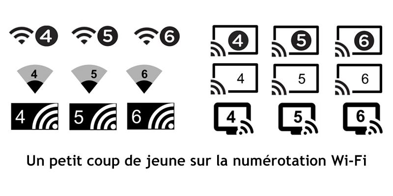 Nouvelles dénominations pour les normes Wi-Fi