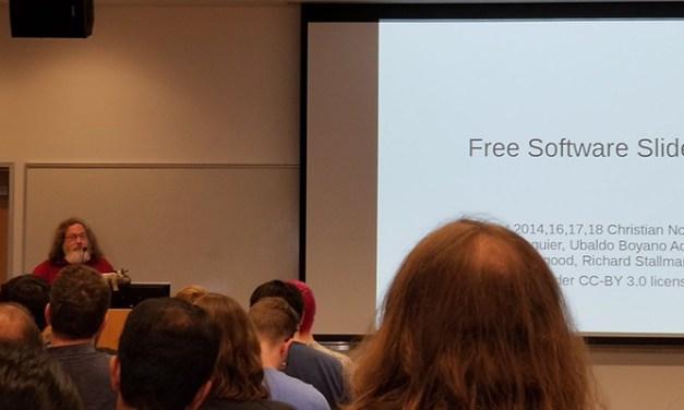 Stallman dans l'antre du diable