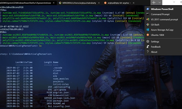 """Windows Terminal"" arrive enfin"
