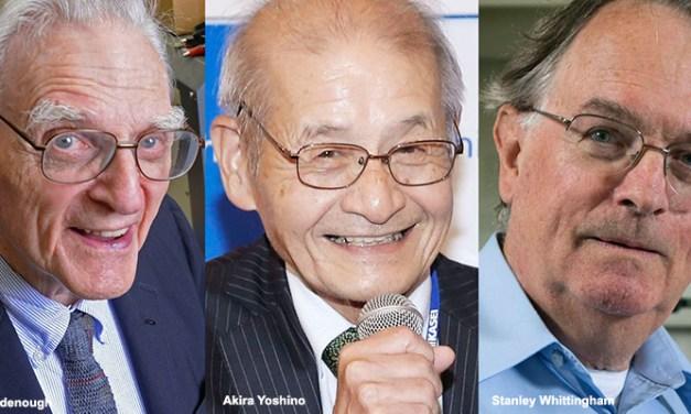 Le prix Nobel pour les chimistes du Lithium-Ion