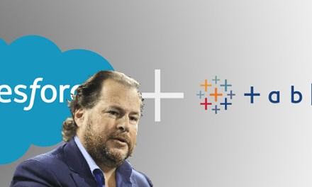 Salesforce rachète Tableau, plus qu'une anecdote