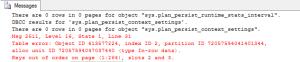 Index of SQL Server