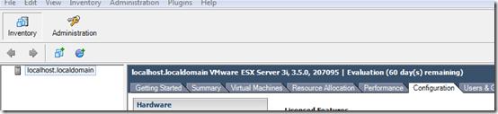 ESX hostname change