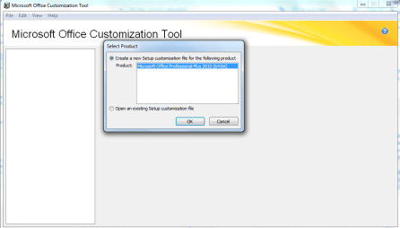 Customize office 2010 install - Office customization tool ...