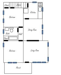 Floor Plan | Ittybittybungalow
