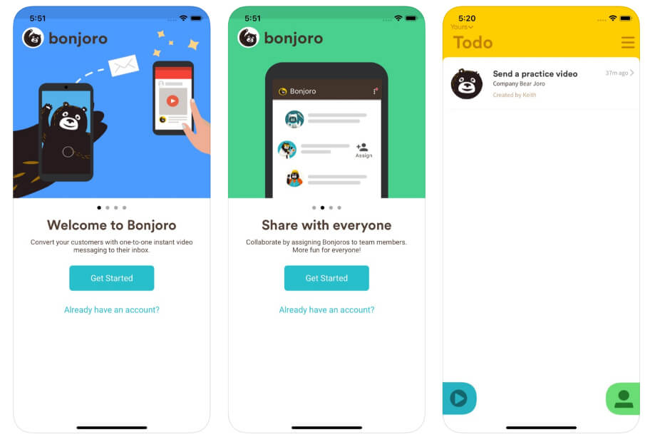 Bonjoro App