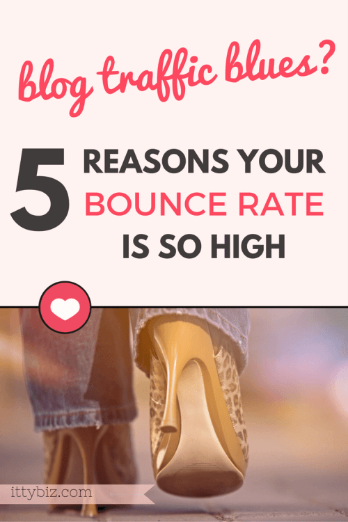 High bounce rate