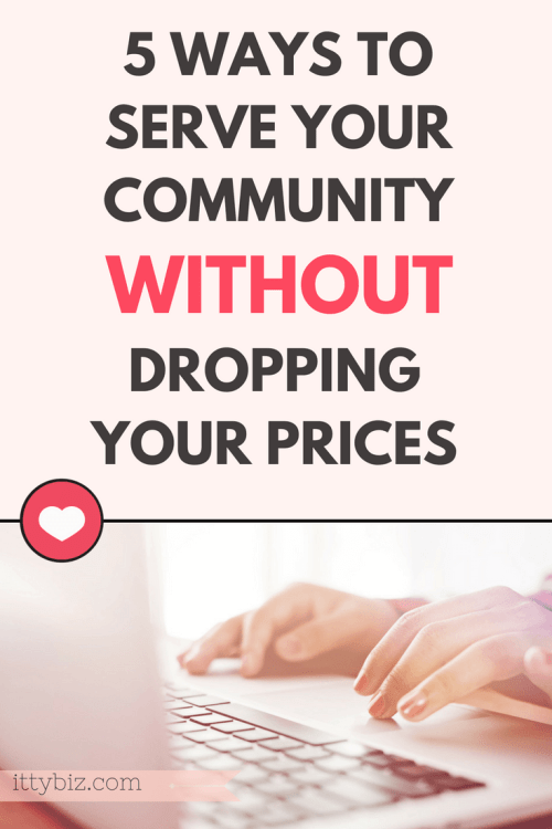 Contribute Without Dropping Prices