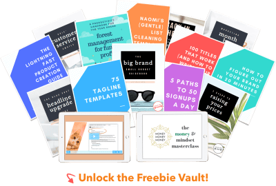 Unlock the IttyBiz Freebie Vault!