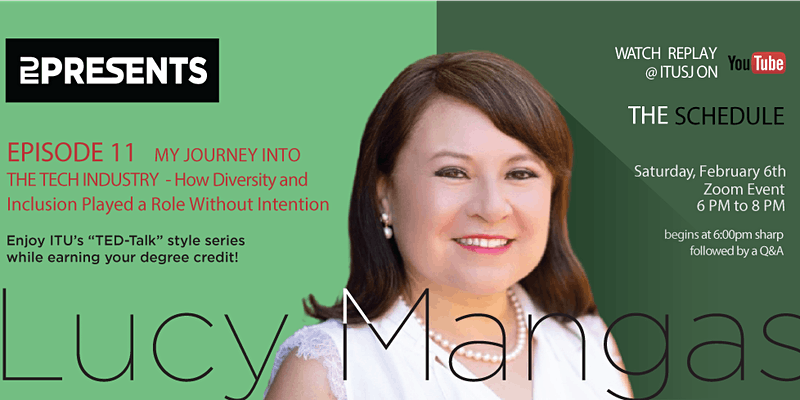 ITU Presents Episode 11 with Lucy Mangas
