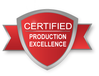 certified production excellence