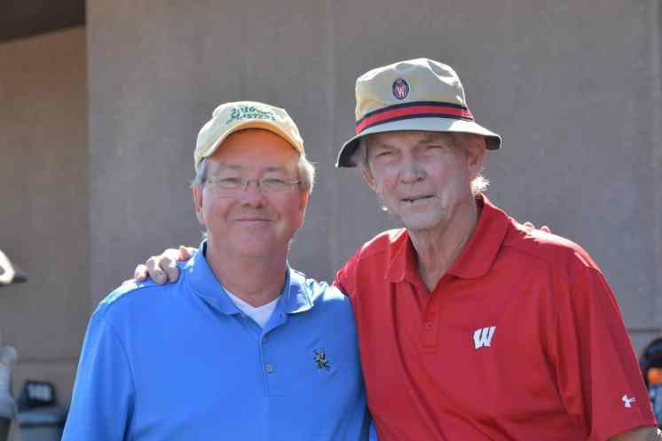 Jim Leef and Pat Richter at Tee Up Fore the Cure 2017