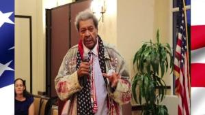Don King speaks about President Trump