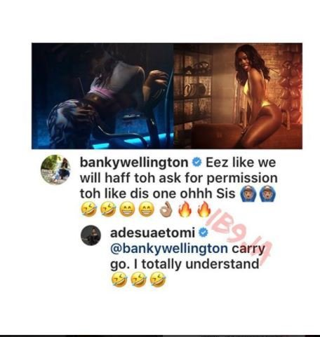 Between Banky W, His Wife, Adesua Etomi & Tiwa Sage… Here's What Happened