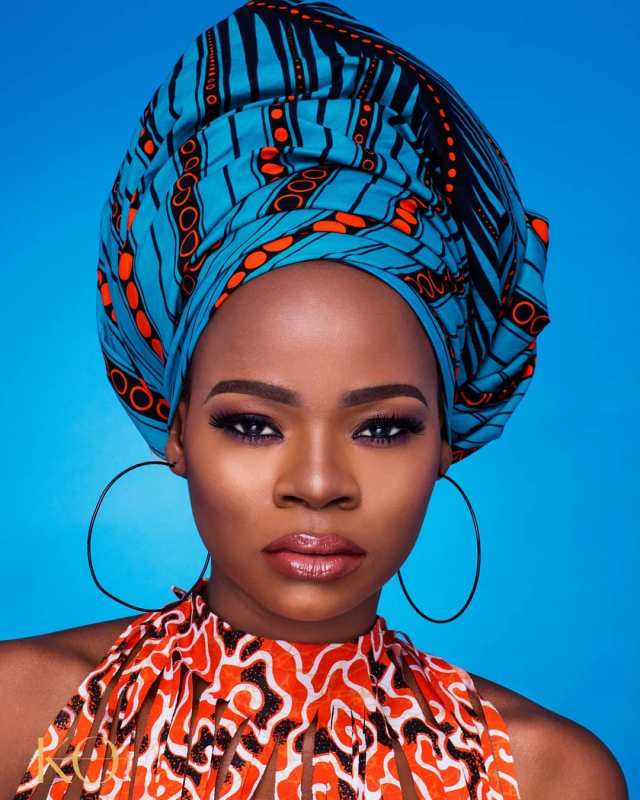Lovely photo of bread-seller turned model, Olajumoke's children