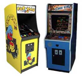 PacMan and Donkey Kong