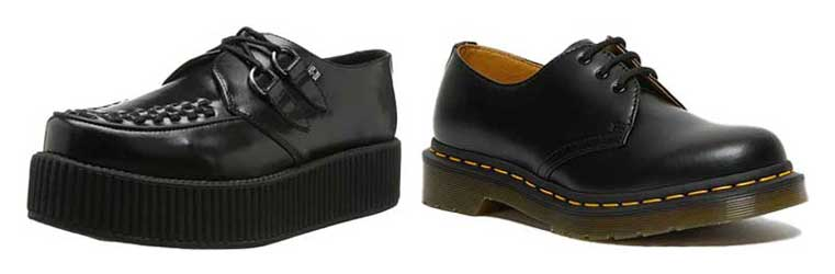 Creepers and Docmartins