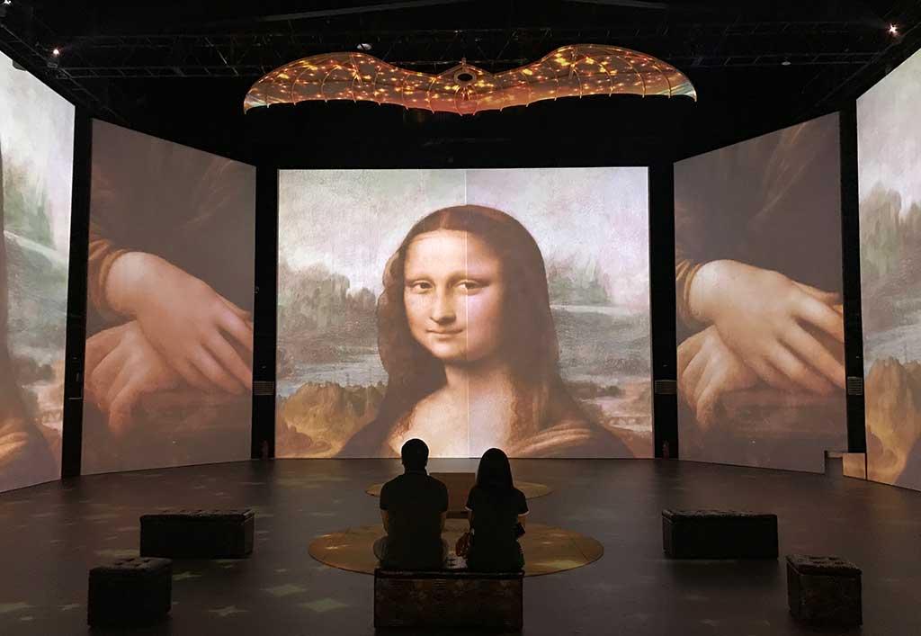 «Da-Vinci-Experience»--más-de-5-mil-personas-asistieron-en-la-primera-semana