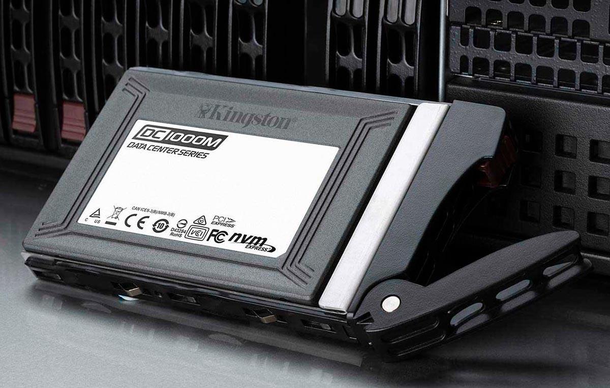 Kingston-lanza-unidad-SSD-DC1000M-NVMe-PCIe-U.2-para-centros-de-datos