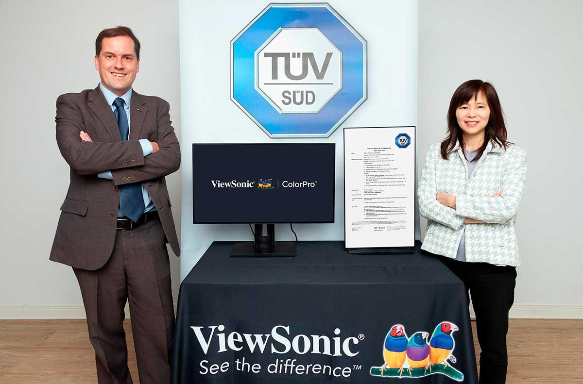viewsonic-anuncia-alianza-con-tuv-sud-para-desarrollar-pruebas-de-color-para-daltonismo