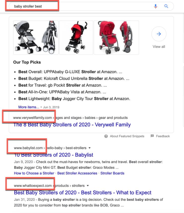 Top Site Keyword