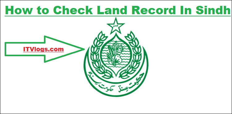 How to Check Land Record In Sindh