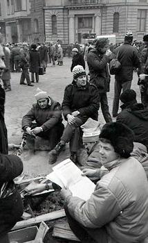 Ivanovskis atminās, ka barikāžu dalībnieki rūpējās viens par otru