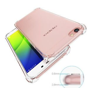 OPPO A79 mobile cover - Bumper Edges Anti Shock Phone Case